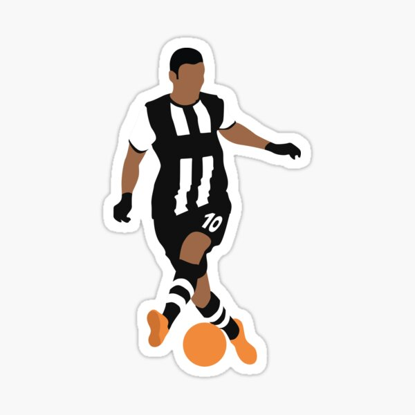 Hatem Ben Arfa. Newcastle, Football. Sticker