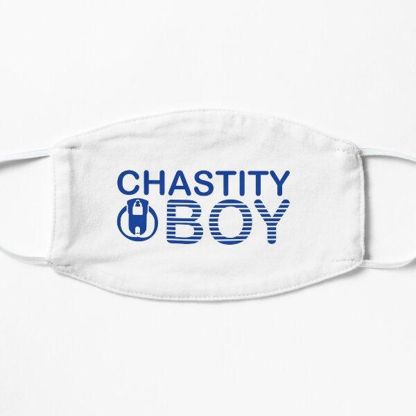 CHASTITY BOY | étiquette bleue Masque sans plis