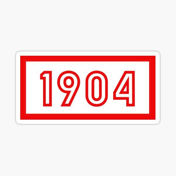 1904 Sticker
