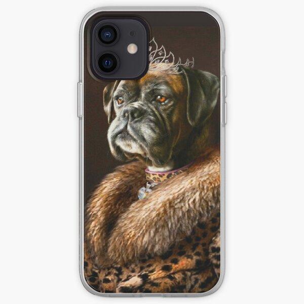 Boxer Dog Portrait - Ruby  iPhone Soft Case
