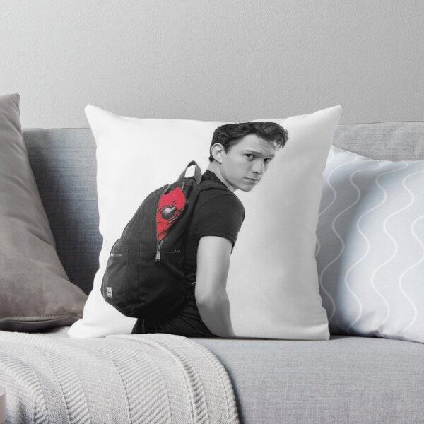 Tom Holland Throw Pillow