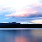 Sunset from Peterson Beach   Fraser Lake BC by Tamara Brandy