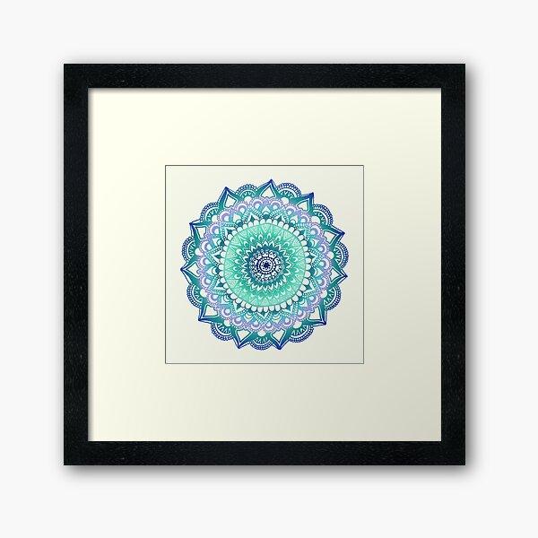 Deep Forest Flower Framed Art Print