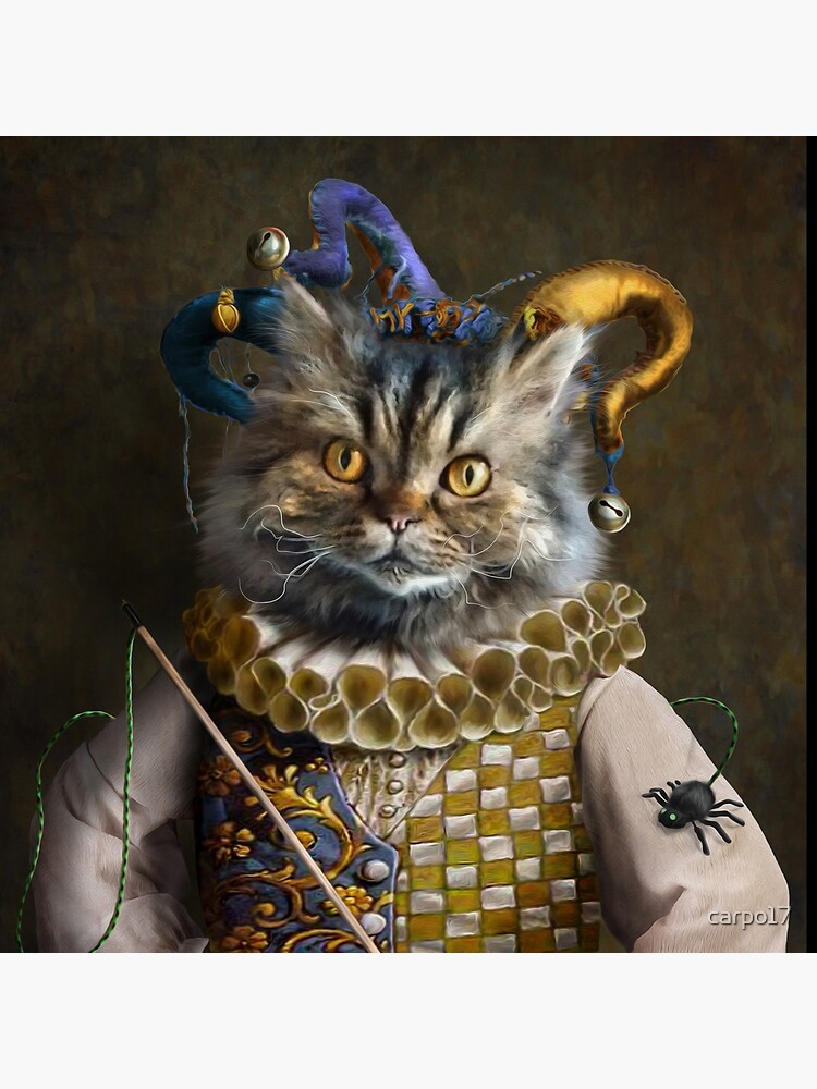 Cat Portrait - Hamish by carpo17