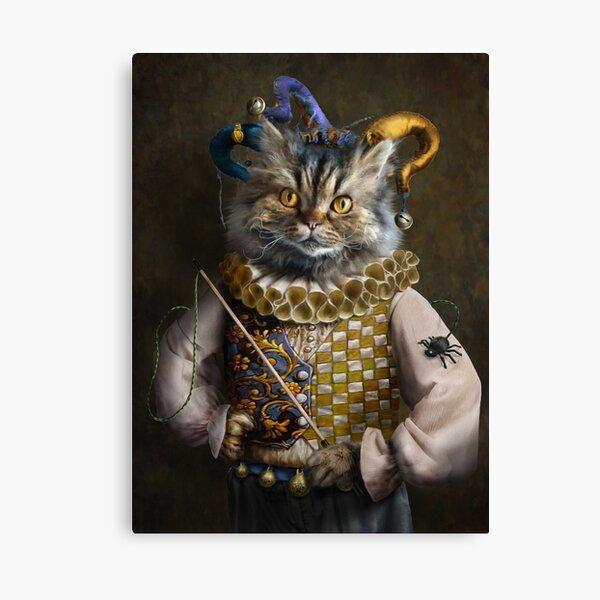 Cat Portrait - Hamish Canvas Print