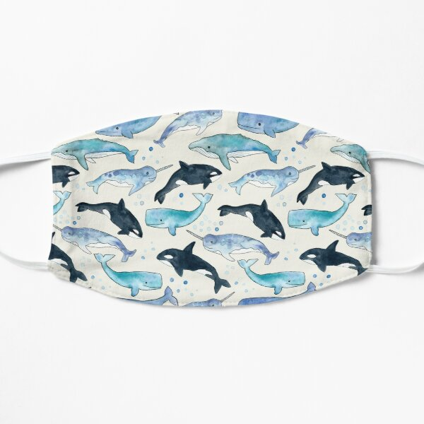 Whales, Orcas & Narwhals Mask