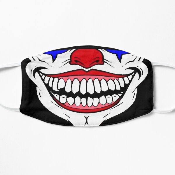 3d crâne joker Masque sans plis