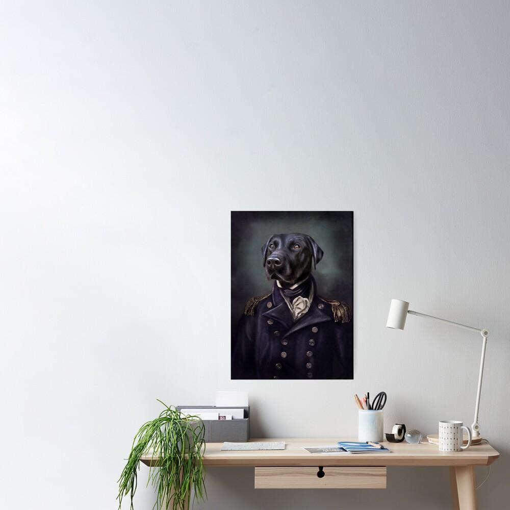 Labrador Portrait - Jake  Poster