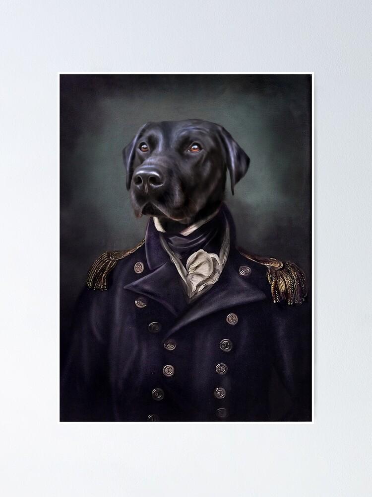 Alternate view of Labrador Portrait - Jake  Poster