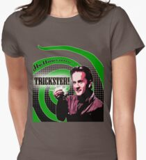 Supernatural: Hello Trickster! Womens Fitted T-Shirt