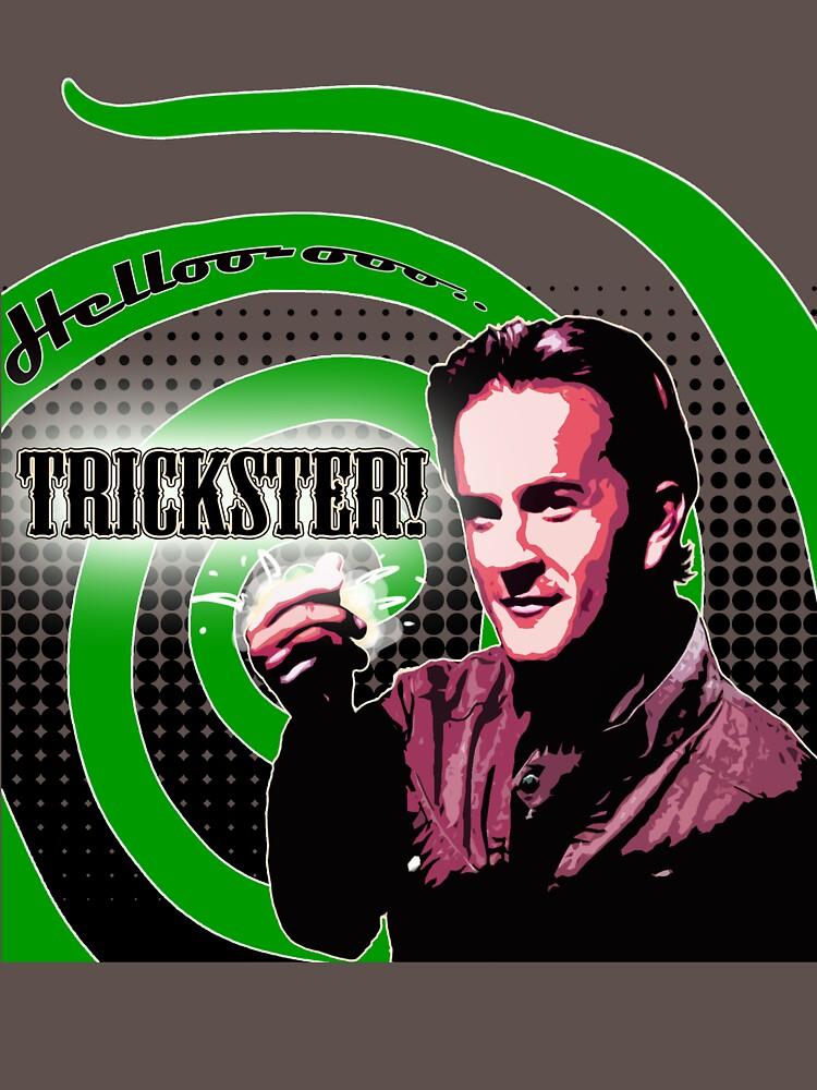Supernatural: Hello Trickster!   Women's T-Shirt