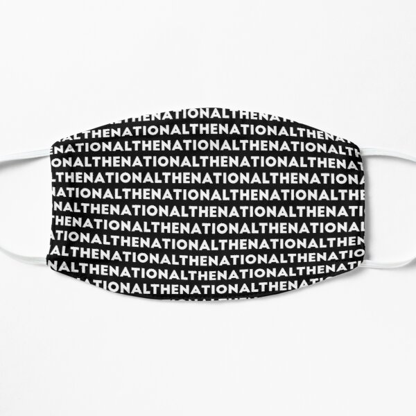 The National Band Logo Art Flat Mask