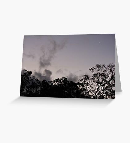 Tree Skyline Greeting Card
