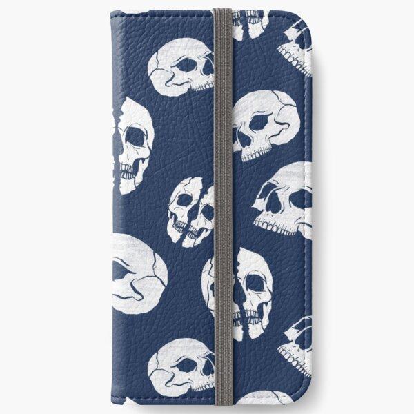 Skull pattern iPhone Wallet
