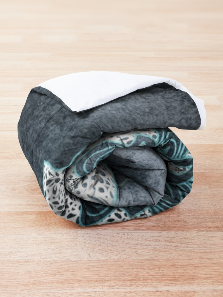 Alternate view of BOHOCHIC MANDALA IN BLUE Comforter