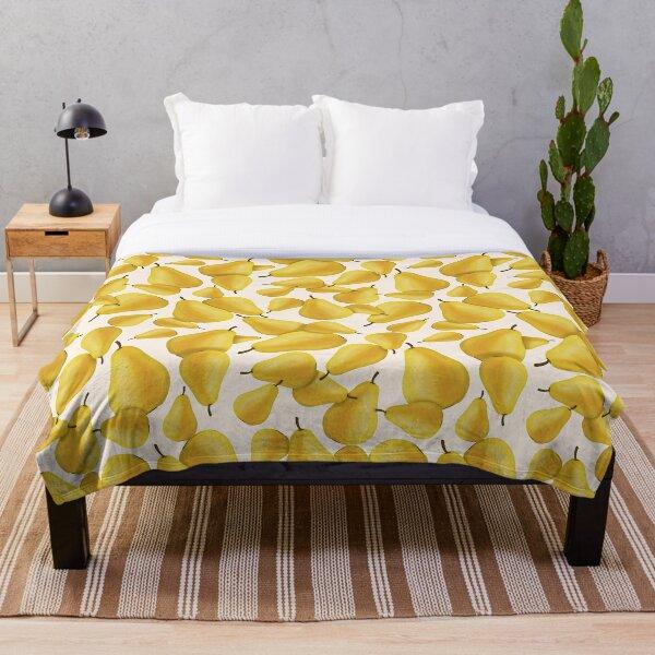 Pear pattern Throw Blanket