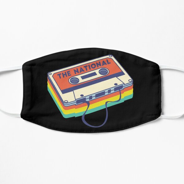 The National Band Logo Cassette Deck Mask