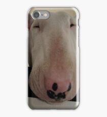 look a cow, not he's a dog iPhone Case/Skin