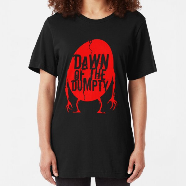 Dawn of the Dumpty (logo only) Slim Fit T-Shirt