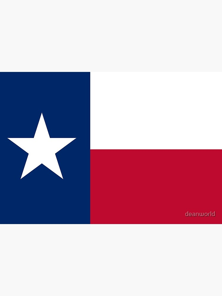 Austin Texas State Flag Badge Pin by deanworld