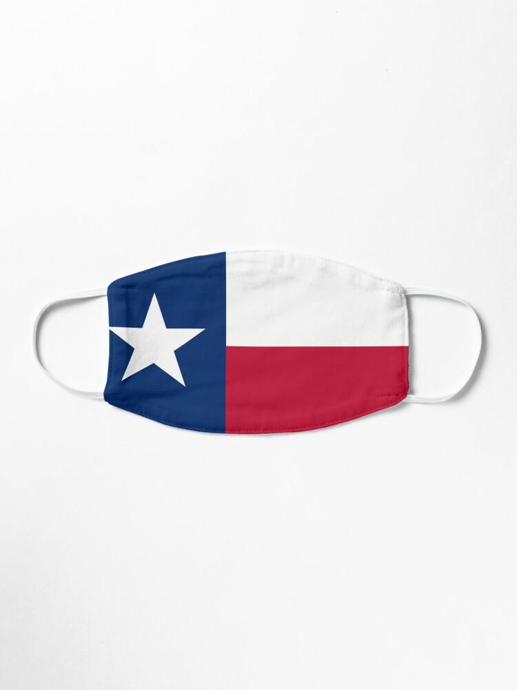 Alternate view of Austin Texas State Flag Badge Pin Mask