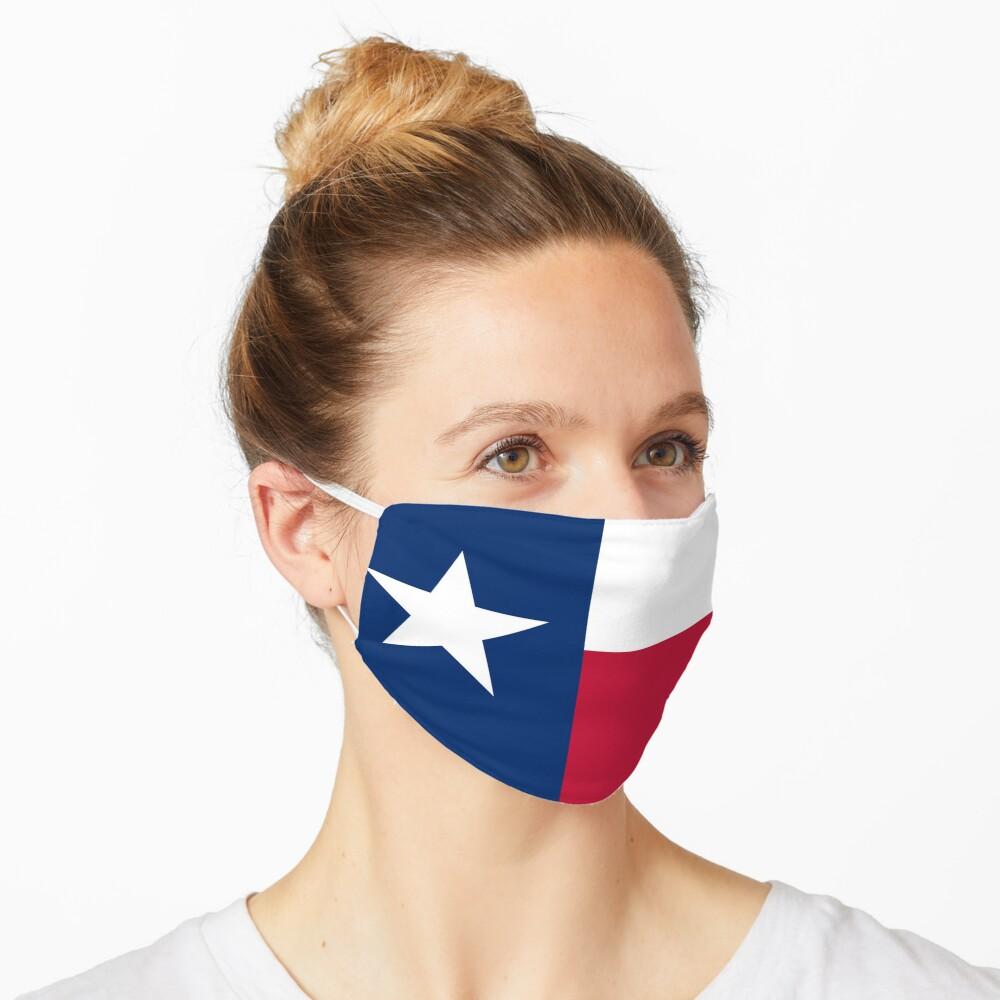 Austin Texas State Flag Badge Pin Mask