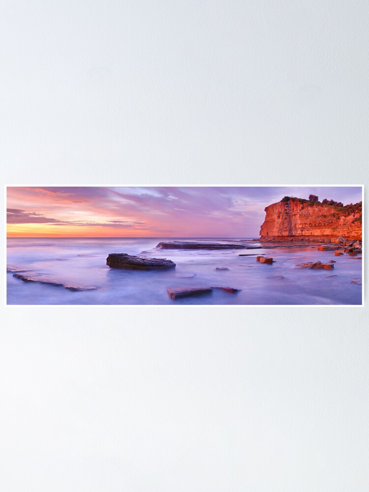 Alternate view of The Skillion, Terrigal, New South Wales, Australia Poster
