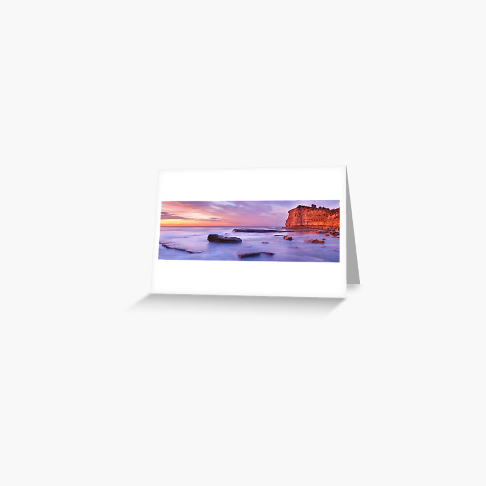 The Skillion, Terrigal, New South Wales, Australia Greeting Card
