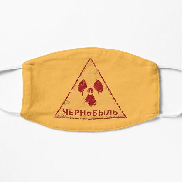 Chernobyl Radiation Russian Flat Mask