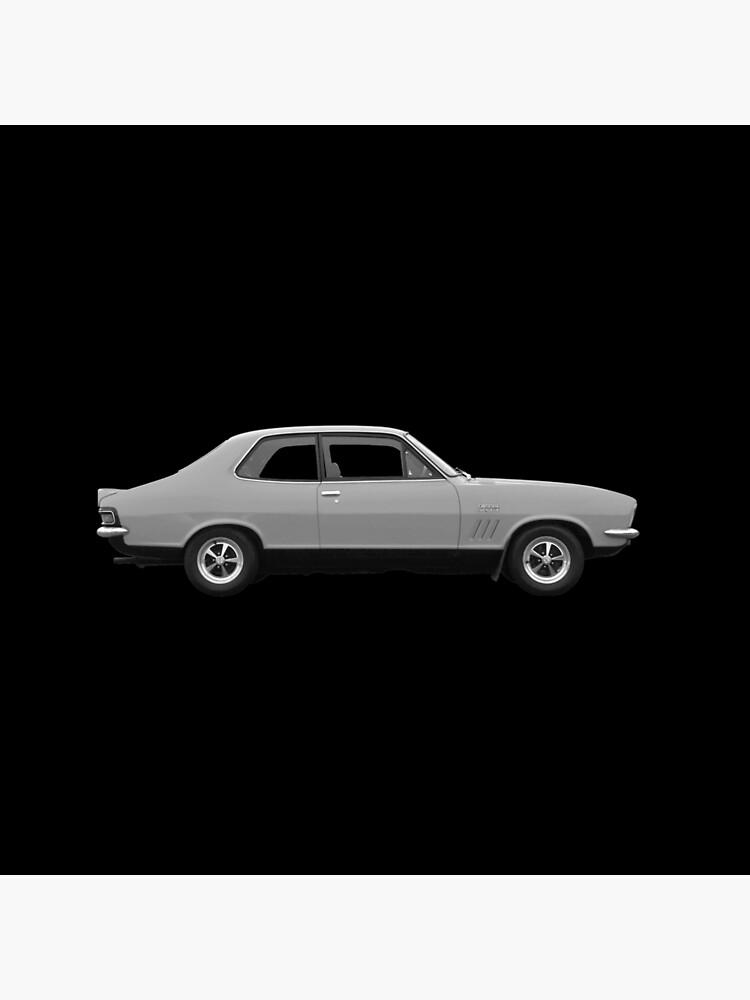 """lj torana gtr xu1 holden 1972 baroda silver on black"