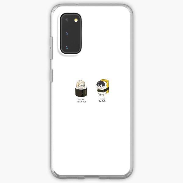 Chibi Kei Tsukishima and Tobio Kageyama Stickers Samsung Galaxy Soft Case