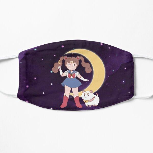 Sailor Bee y Puppycat Mascarilla plana
