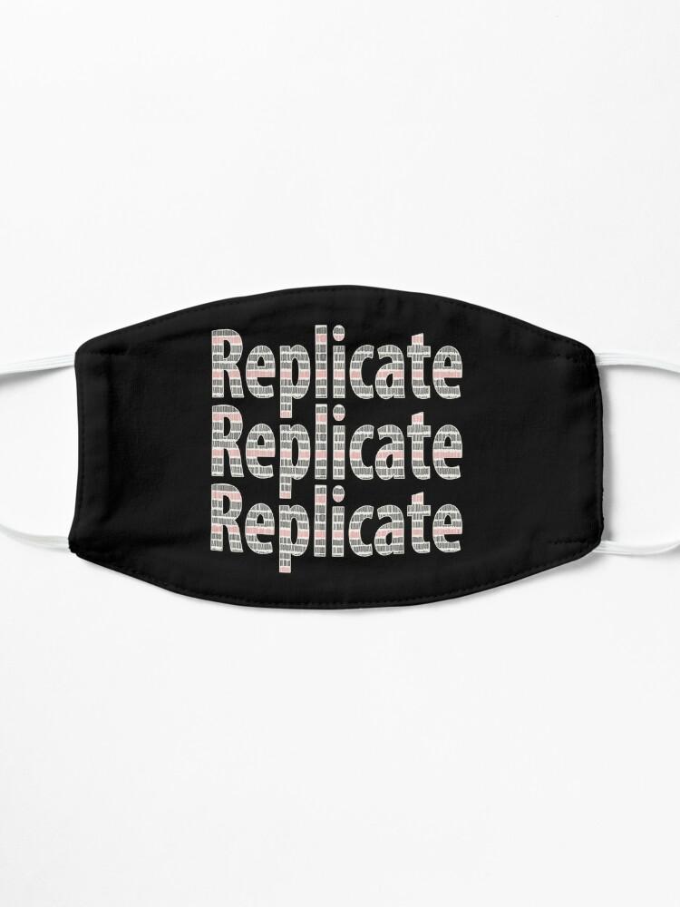 Alternate view of Replicate 3X. Mask