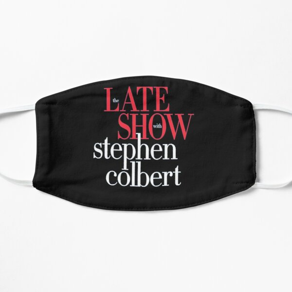 The Late Show with Stephen Colbert United We Stand Flat Mask