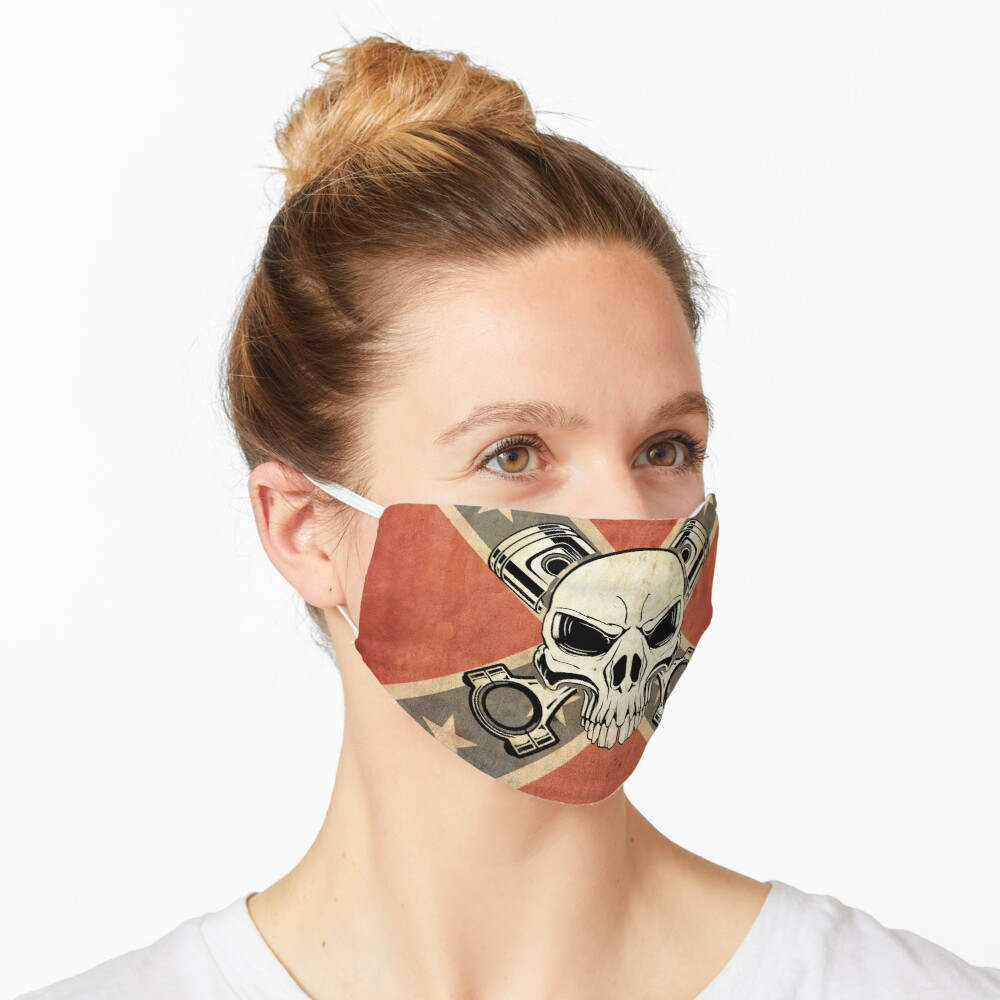 CONF. SKULL PISTONS Maske