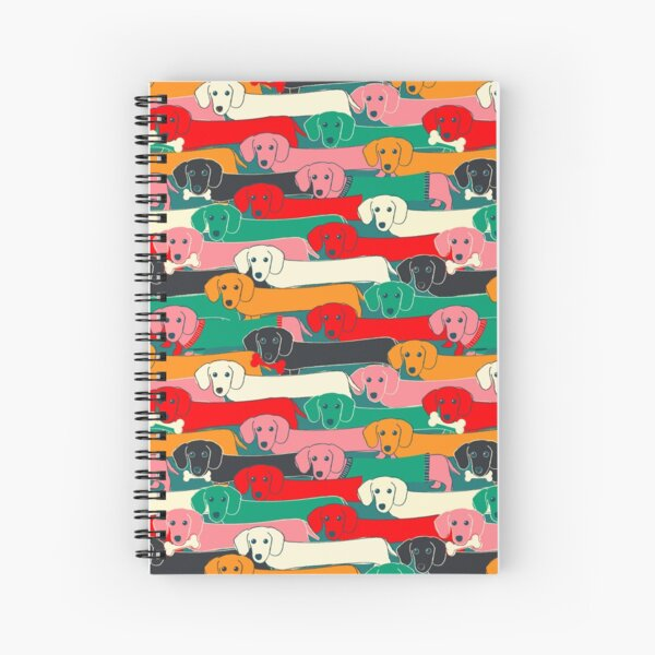 Dogs pattern Spiral Notebook