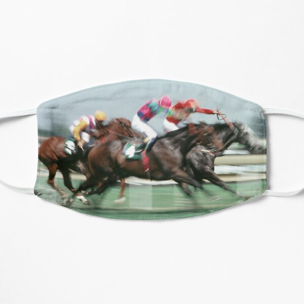 Horse racing action 5 Mask