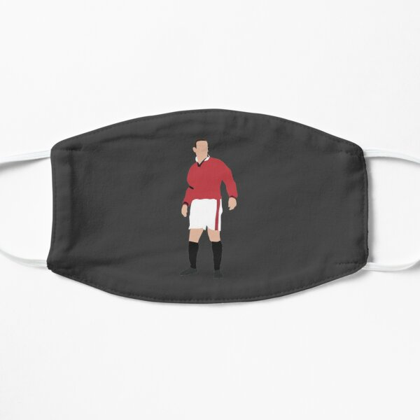 Eric Cantona. Manchester United, Football. Flat Mask