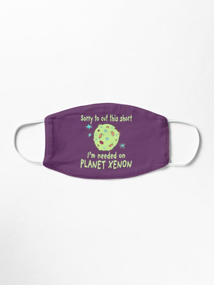 Alternate view of Planet Xenon. Mask