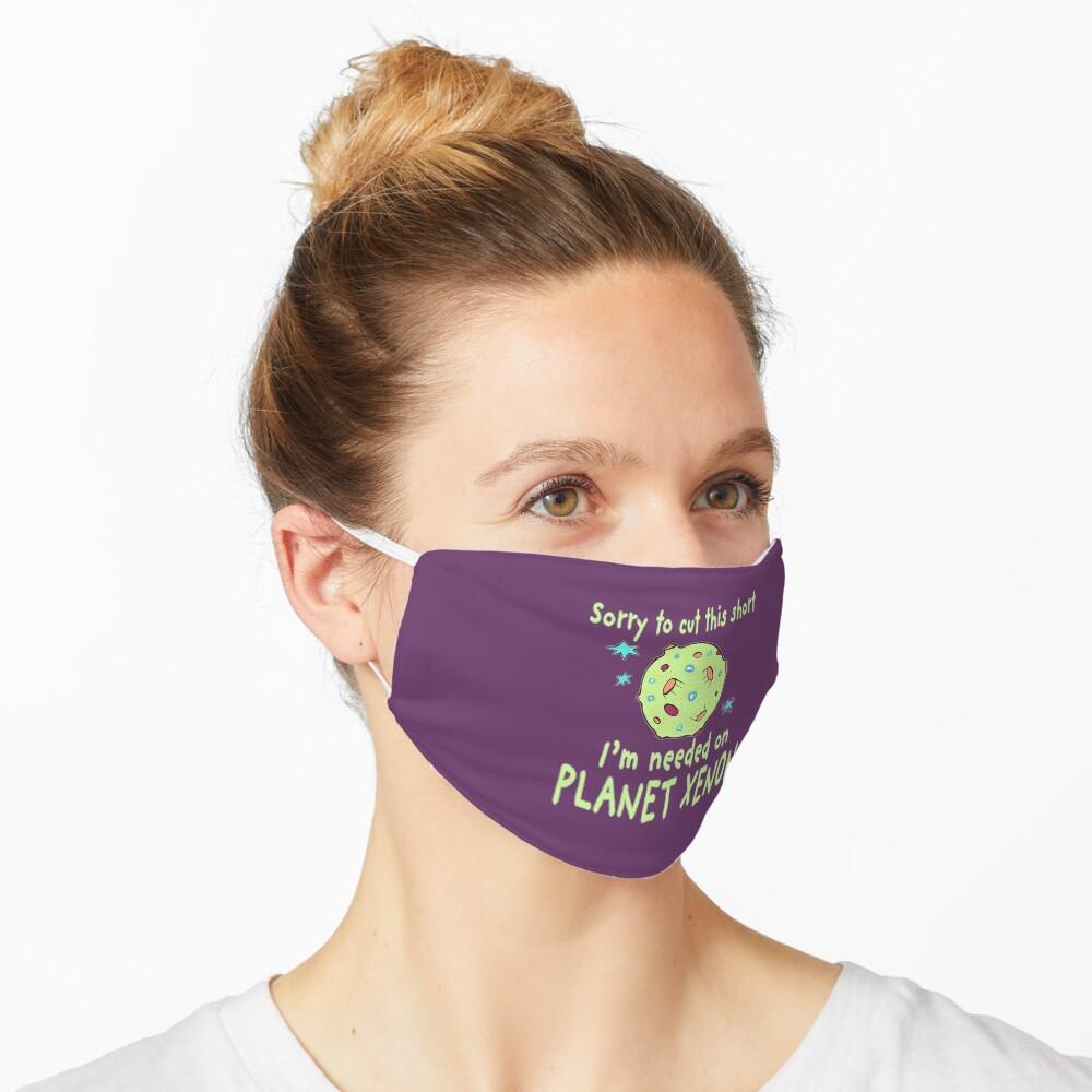 Planet Xenon. Mask
