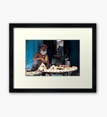 Pastry Chef Framed Print