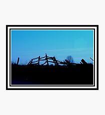 All Fenced Out............ Photographic Print