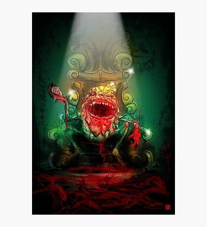 Dumpty of the Dead – King Dumpty Photographic Print