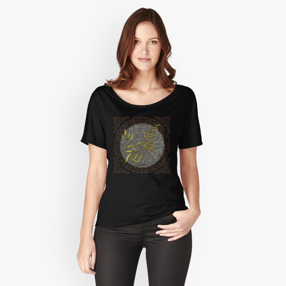 Celtic Willow Relaxed Fit T-Shirt