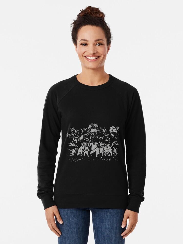Resident Evil 7 Ethan Must Die Lightweight Sweatshirt By