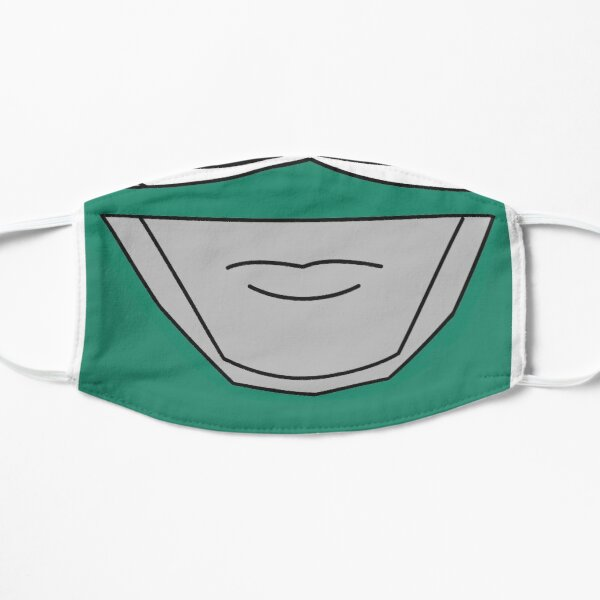 May The Power Protect You - Green Flat Mask