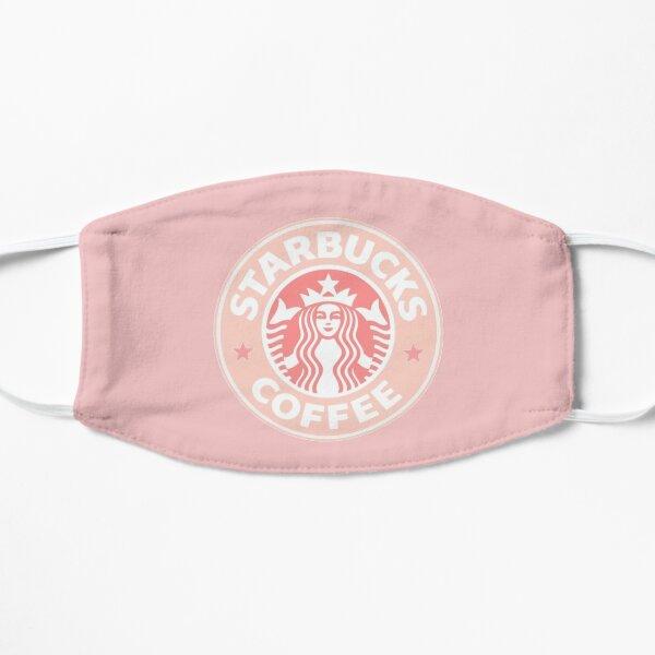 Light Pink Starbucks Flat Mask