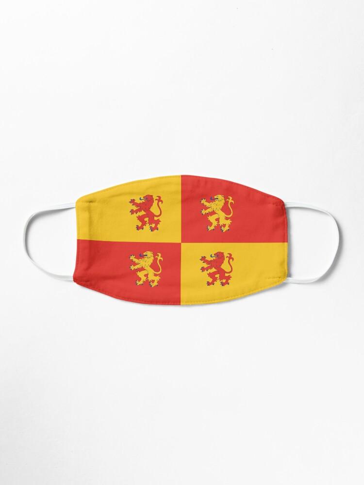 Alternate view of Baner Owain Glyndŵr Flag, Welsh Flag, Wales Mask
