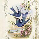 iPhone Case Hummingbirds by Melanie  Dooley
