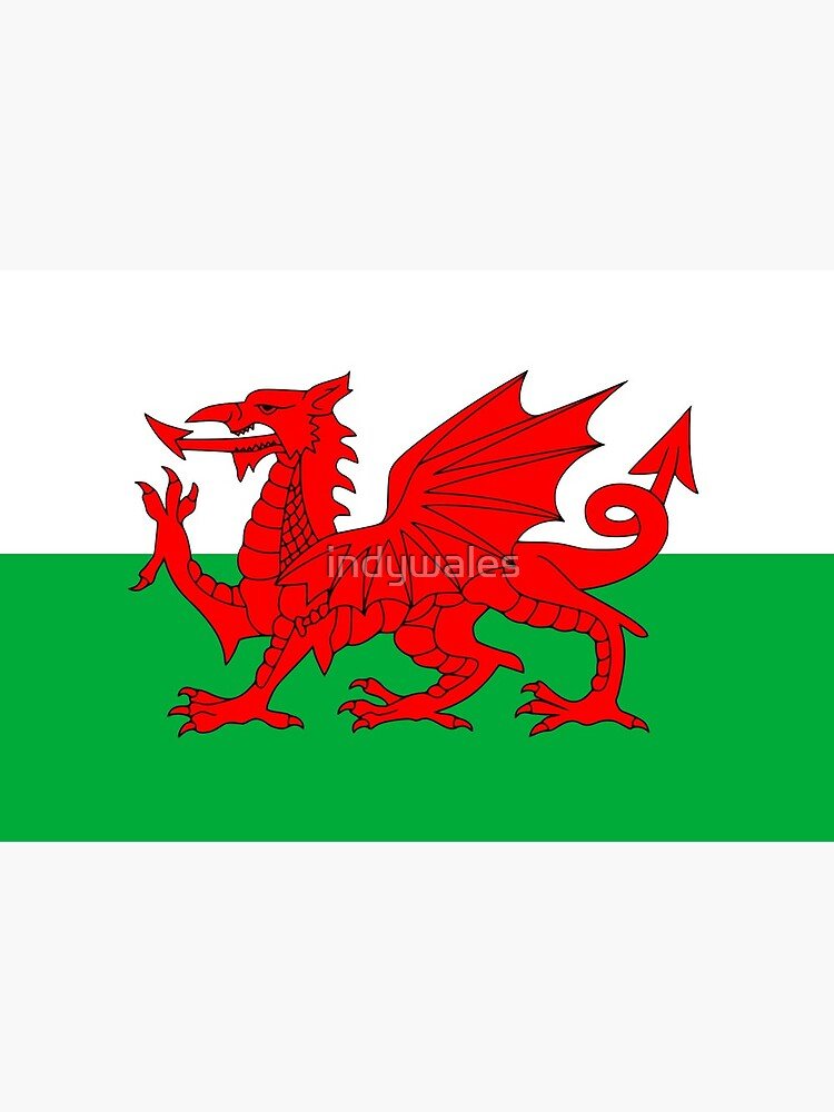 Welsh Flag, Baner Cymru, Y Ddraig Goch, Welsh Dragon by indywales